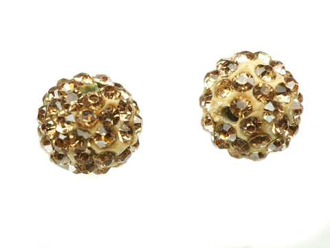 Lime Color Crystal Shamballa Beads Pave Disco balls n Spacer Jewelry Supplies