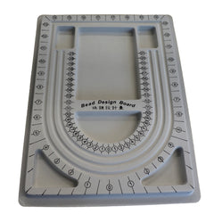 Plastic Bead Design Boards, Gray, Size: about 24cm wide, 33cm long, 1cm thick