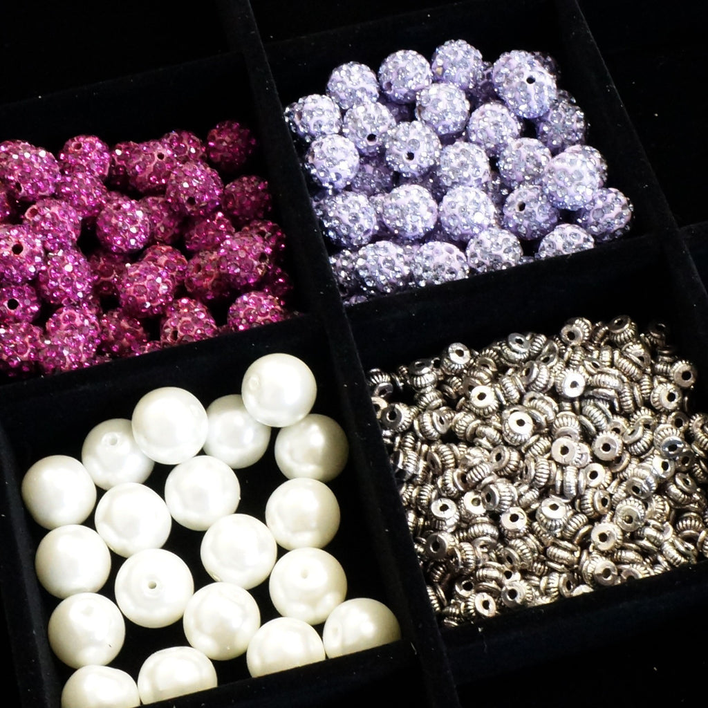 bead design board case box with bracelet necklace holder and 6