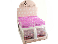 Wholesale Lot of 5mm Bead Faux Pearl Stud Earrings One Box 24 Packs