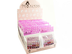 Wholesale Lot of 6mm Bead Faux Pearl Stud Earrings One Box 20 Packs
