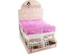 Wholesale Lot of 12mm Bead Faux Pearl Stud Earrings One Box 18 Packs