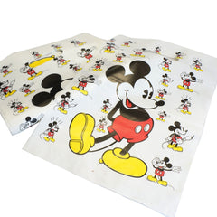 Mickey Mouse Merchandise Shopping Bags, Retail Shop Flea Market 25x35cm Pack of 40