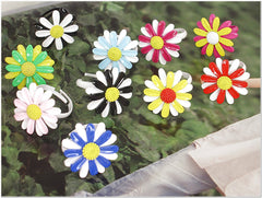 Summer Sun Flower Fashion Rings (10 Colors available)