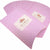 Heart Pattern Pillow Favor Boxes for Candy, Jewelry or Small Gift, Pink Color, Pack of 10