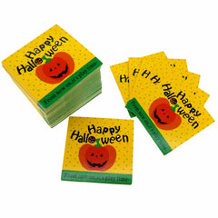 Halloween Design Paper Gift / Price Tags with Color Twine for Gift Wrapping Packaging, Set of 95 (D)