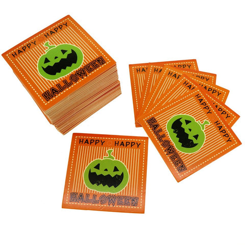Halloween Design Paper Gift / Price Tags with Color Twine for Gift Wrapping Packaging, Set of 95 (E)
