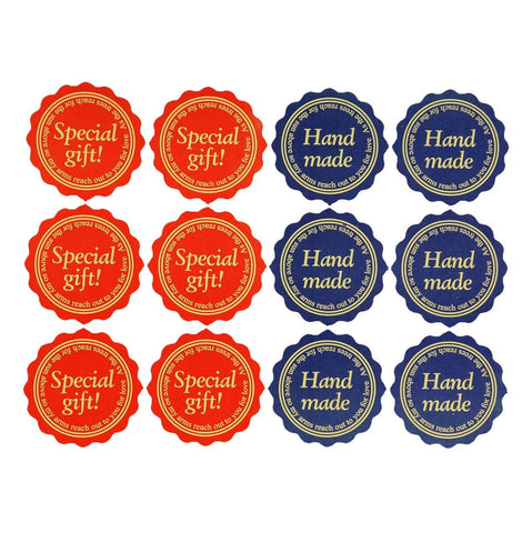 Special Gift! And Hand Made Sticker for Home Baking Gift Packaging, Pack of 120