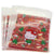 Hello Kitty Cat Christmas Present Cookie Candy Snack Party Favor Gift Bags, Pack of 95