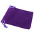 Pack of 12 Purple Color Soft Velvet Pouches w Drawstrings for Jewelry Gift Packaging, 7x9cm