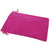 Pack of 12 Fuchsia Color Soft Velvet Pouches w Drawstrings for Jewelry Gift Packaging, 12x18cm