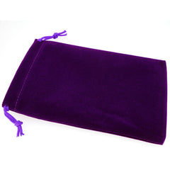 Pack of 50 Purple Color Soft Velvet Pouches w Drawstrings for Jewelry Gift Packaging, 12x18cm