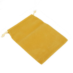 Pack of 12 Beige Color Soft Velvet Pouches w Drawstrings for Jewelry Gift Packaging, 15x20cm
