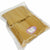 Pack of 50 Beige Color Soft Velvet Pouches w Drawstrings for Jewelry Gift Packaging, 15x20cm