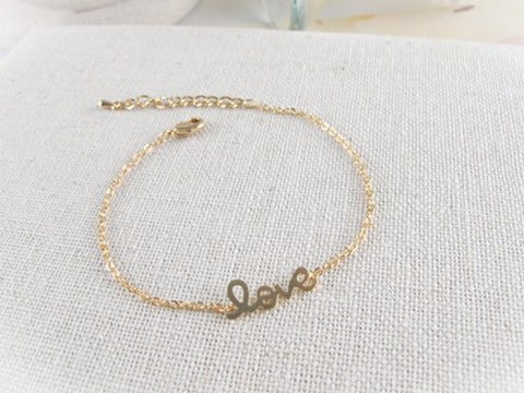 Lovely Love Anklet