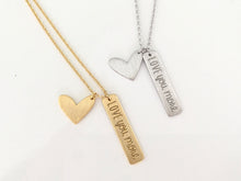 Load image into Gallery viewer, Love You More Necklace