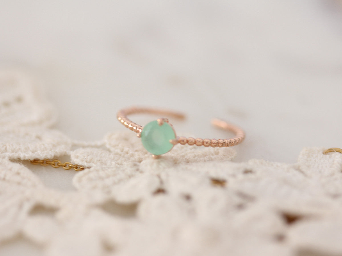 Mint Stone Ring