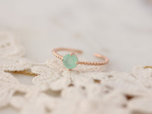Load image into Gallery viewer, Mint Stone Ring