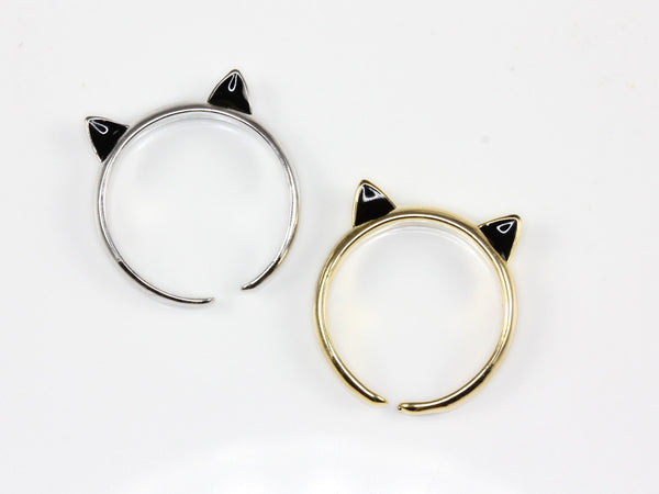 Kitten Ear Knuckle Ring