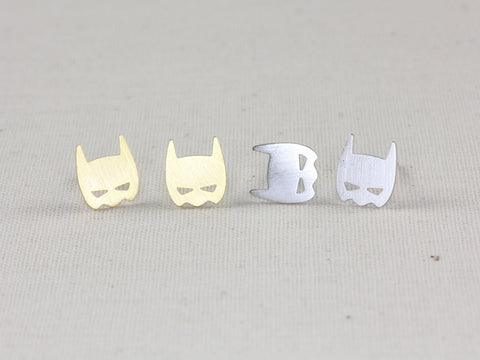 Baby Bat Mask Earrings