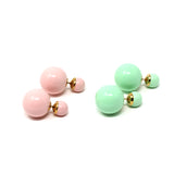 Double Color Studs
