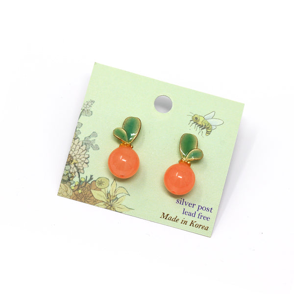 Greeny Earring