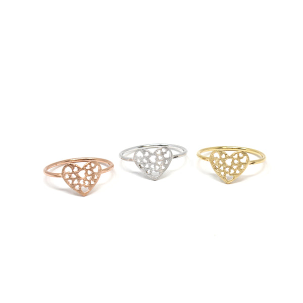 Shape of Heart Ring