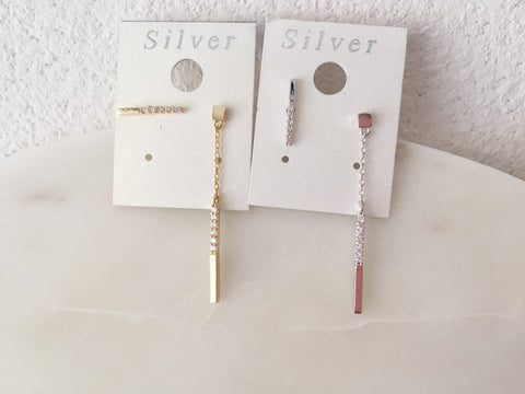 Miles Bar Drop Earrings