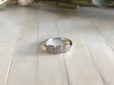 Trio Pave Ring