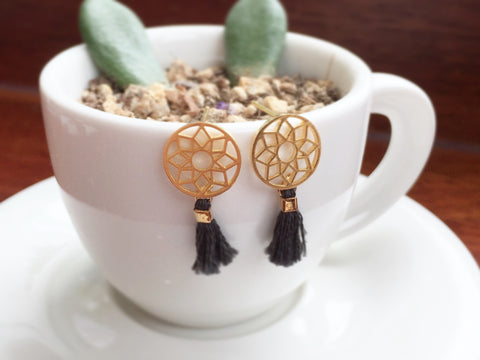 Dreamcatcher Tassel Earrings