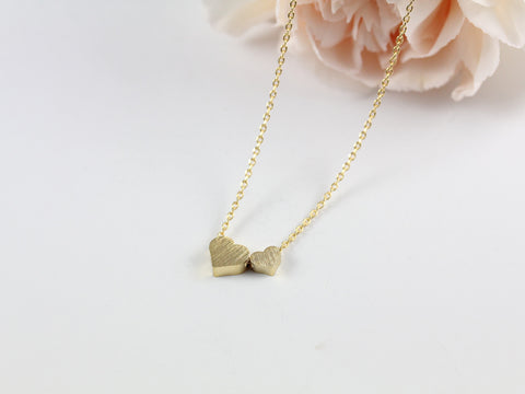 Double Hearts Necklace