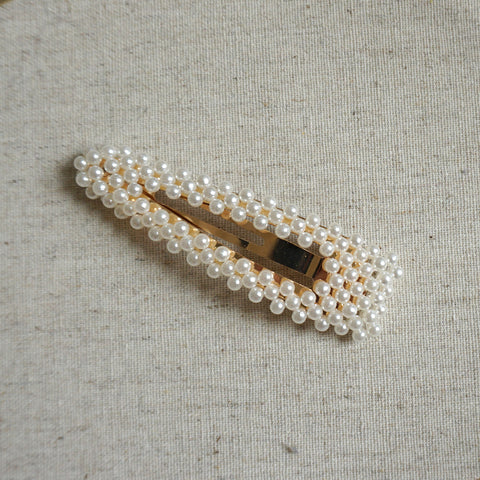 Oversized Pearl Hair Clip