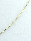 Ball Chain Gold Necklace