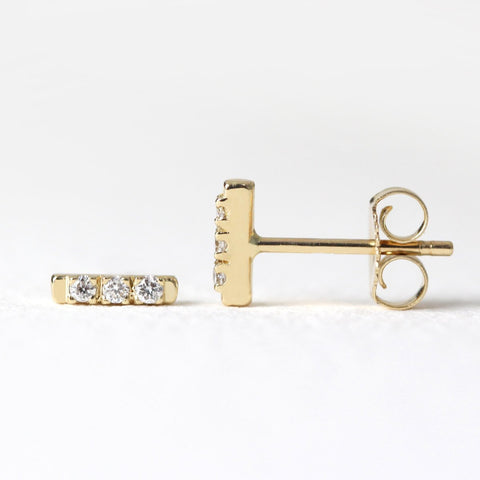 Diamond Bar Studs S
