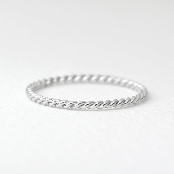 Twist Rope Ring