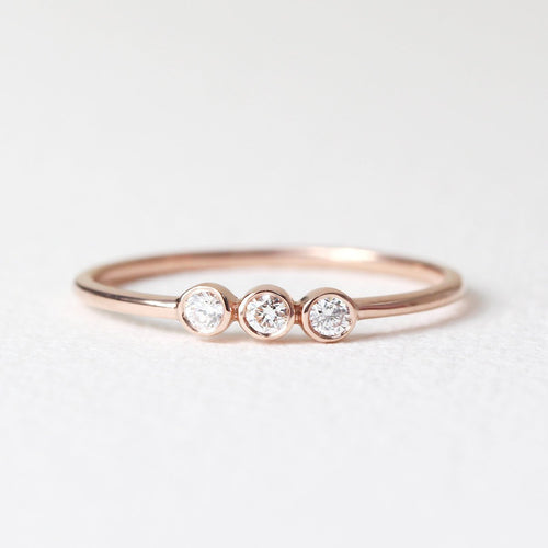 Triple Diamond Ring