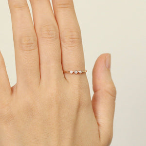 Three Diamonds Ring
