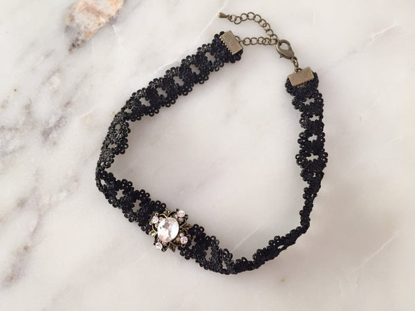 Antique Jeweled Choker