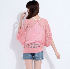 Ladies Crochet Knitted Pullover
