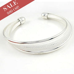80% OFF - Sterling Silver Bangle