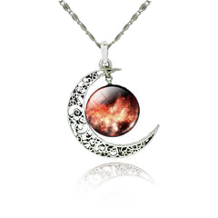 Galaxy Pendant Necklace