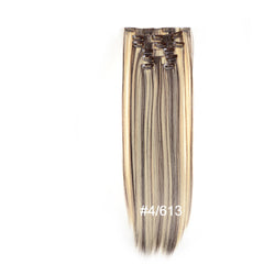 Clip In Hair Extensions Full Head Set (7 Pieces)