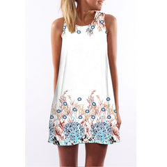 Petite Women Floral Summer Beach dress
