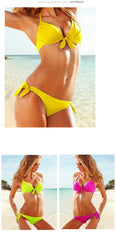 Ladies Sweet As Honey Bikini Beach Swimsuit