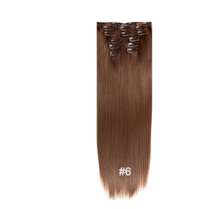 Clip In Hair Extensions Full Head Set 7 Pieces Shop Chainz