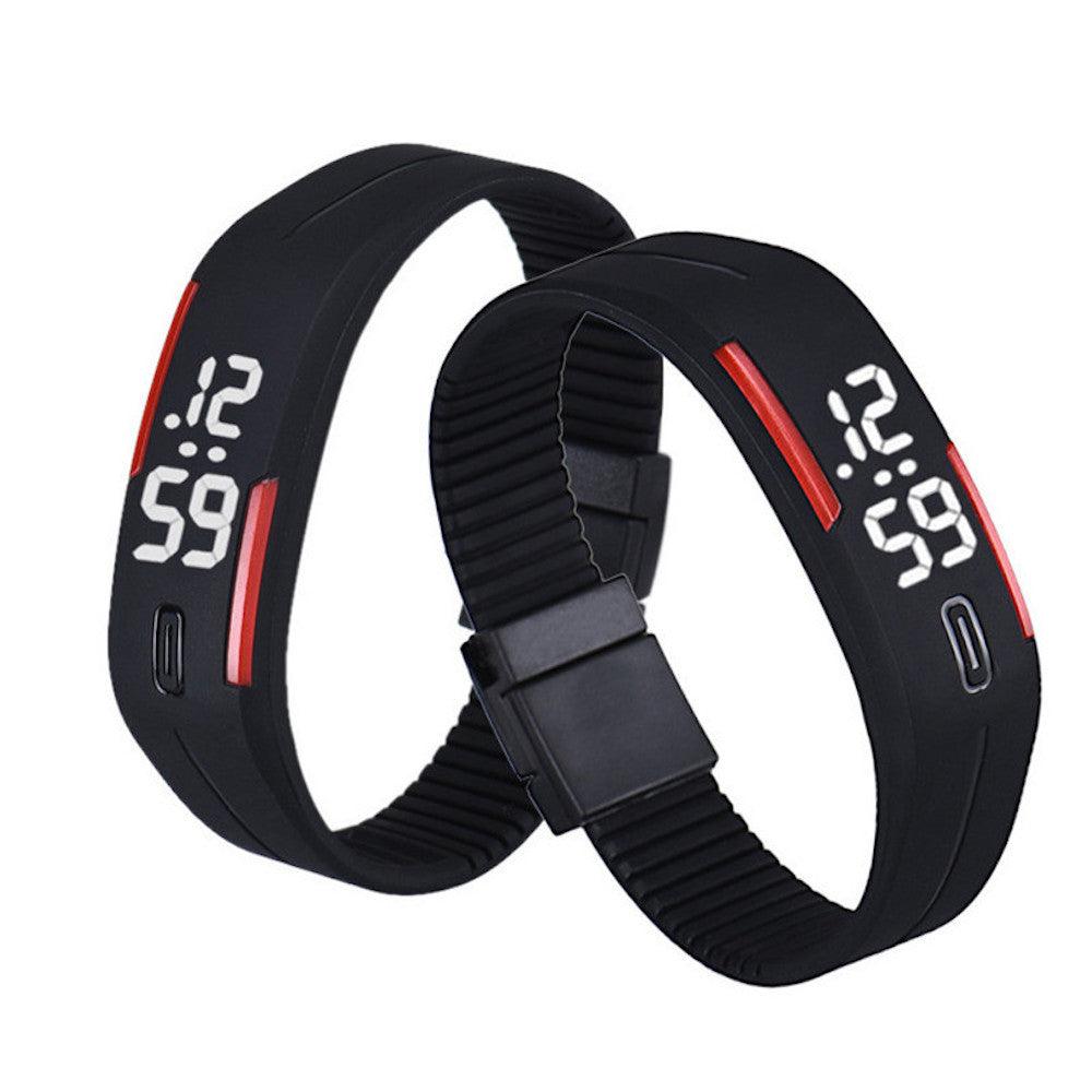 Rubber LED Sports Watch Bracelet