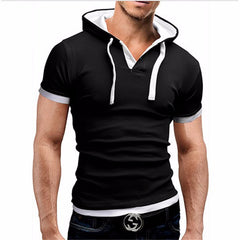 Men Hooded Tee