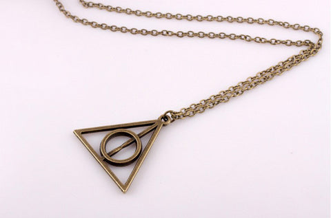 Triangle Circle Necklace