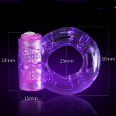 Silicon Vibrating Ring for Men