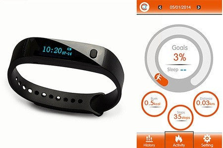 Bluetooth Activity Health Tracker Bracelet